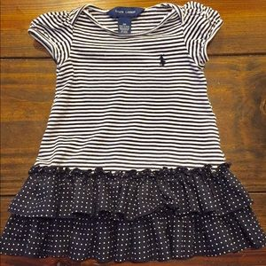Ralph Lauren striped infant dress